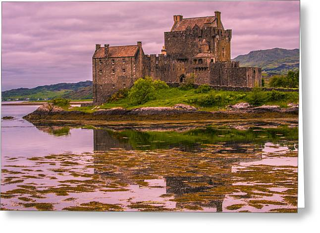 Greeting Card featuring the photograph Eilean Donan Castle I by Steven Ainsworth