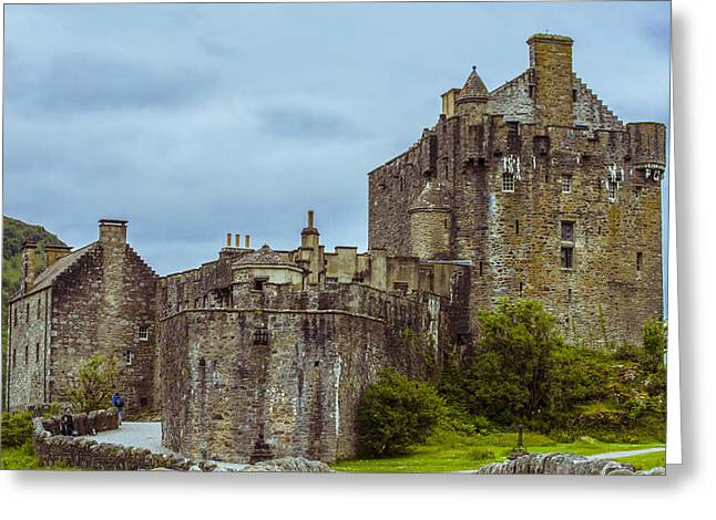Greeting Card featuring the photograph Eilean Donan Castle II by Steven Ainsworth