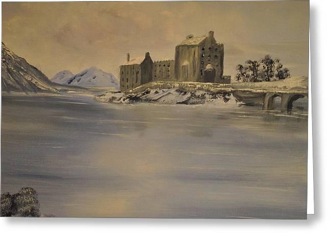 James Higgins Greeting Cards - Eilean Donan Castle Greeting Card by James Higgins
