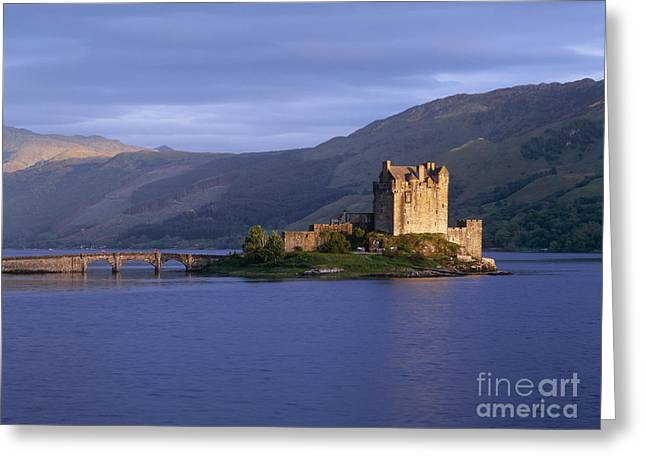 Rolling Stone Greeting Cards - Eilean Donan Castle Greeting Card by Jeremy Woodhouse