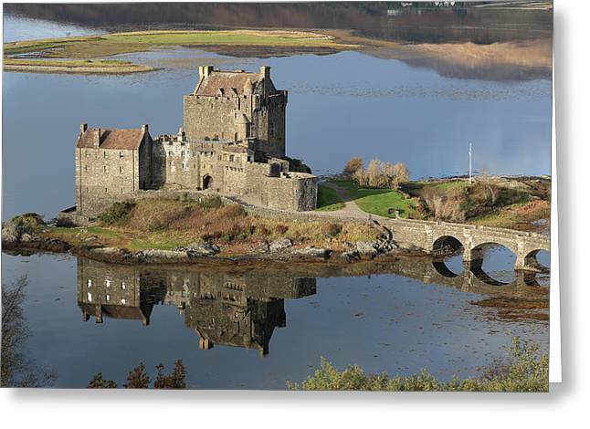 Eilean Donan Castle Reflections Greeting Card