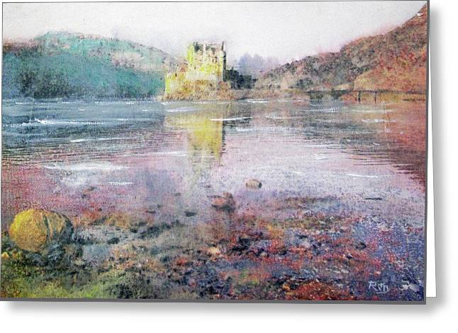Eilean Donan Castle  Greeting Card by Richard James Digance