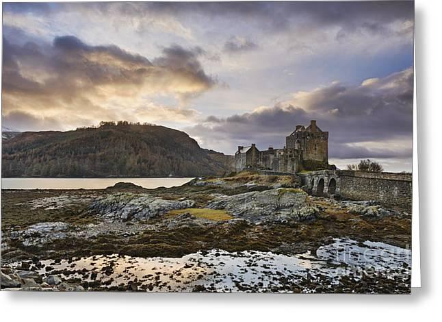 Eilean Donan Castle Greeting Card by Rod McLean