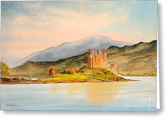 Eilean Donan Castle Scotland Greeting Card by Bill Holkham