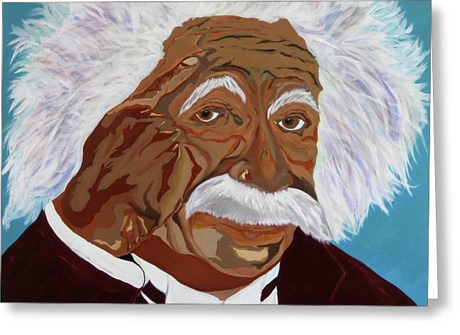 Einstein-relative Thinking Greeting Card