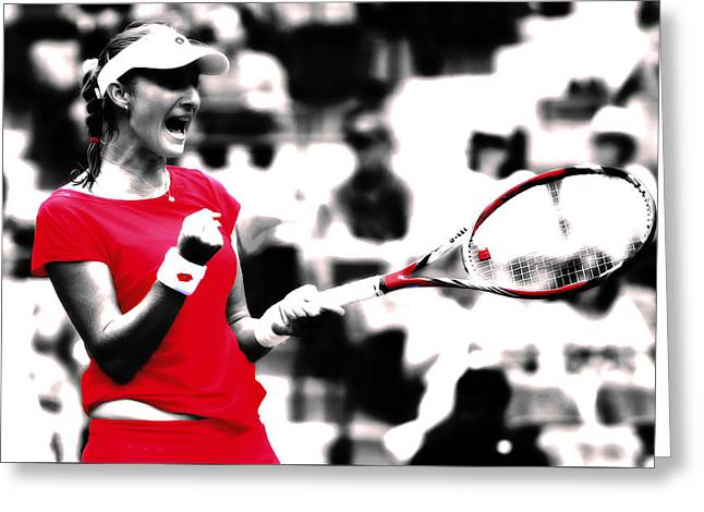 Ekaterina Makarova      Greeting Card by Brian Reaves