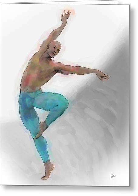 El Arte De La Danza Greeting Card by Quim Abella