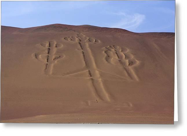 El Candelabro Peru Greeting Card by Aidan Moran