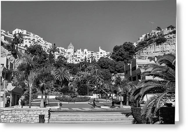 El Capistrano, Nerja Greeting Card by John Edwards