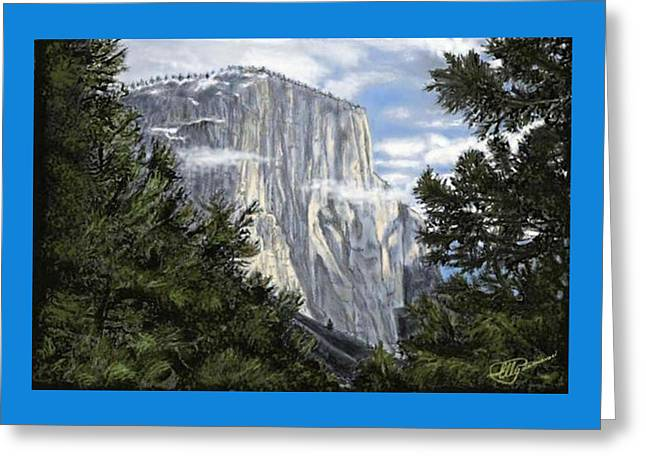 El Capitan Greeting Card