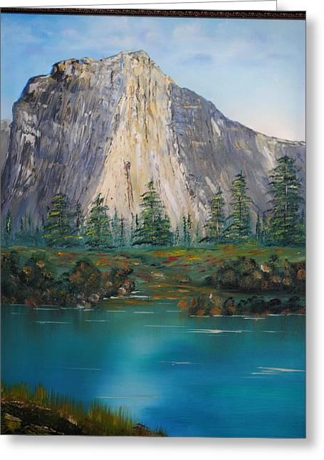 James Higgins Greeting Cards - El Capitan Yosemite National Park Ca. Greeting Card by James Higgins