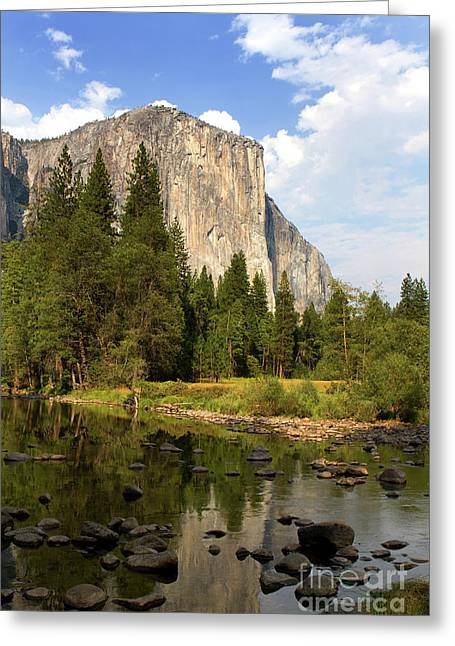 El Capitan Yosemite National Park California Greeting Card