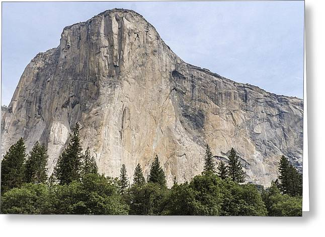 El Capitan Yosemite Valley Yosemite National Park Greeting Card