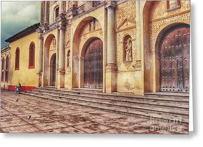 Greeting Card featuring the photograph El Centro by Charles McKelroy