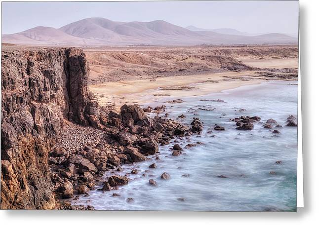 El Cotillo - Fuerteventura Greeting Card by Joana Kruse