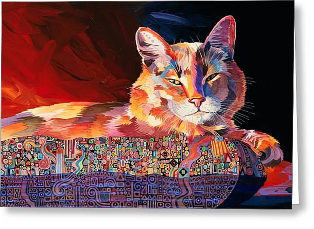El Gato Sonata Greeting Card