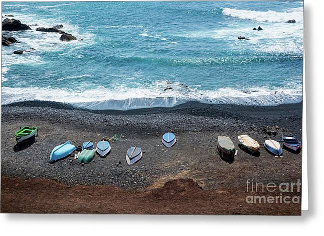 El Golfo Greeting Card by Delphimages Photo Creations
