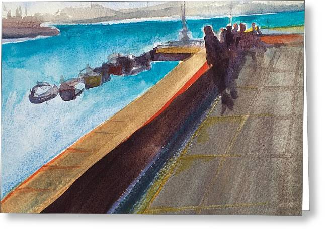 El Malecon, Havana Greeting Card