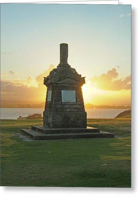 Greeting Card featuring the photograph El Morro San Juan Puerto Rico by Gary Wonning