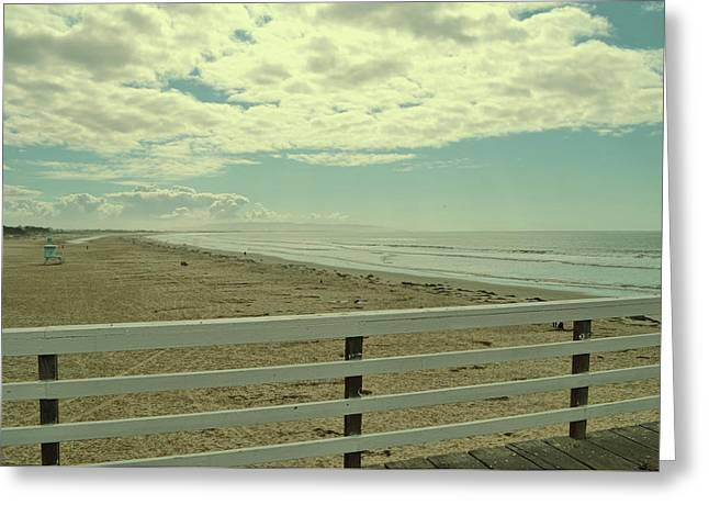 El Pismo Greeting Card by JAMART Photography