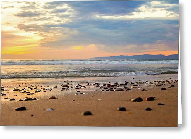 Greeting Card featuring the photograph El Segundo Beach by April Reppucci