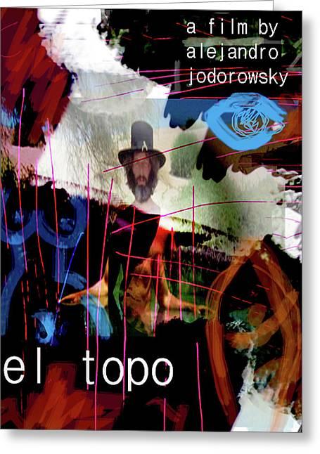 El Topo Film Poster  Greeting Card