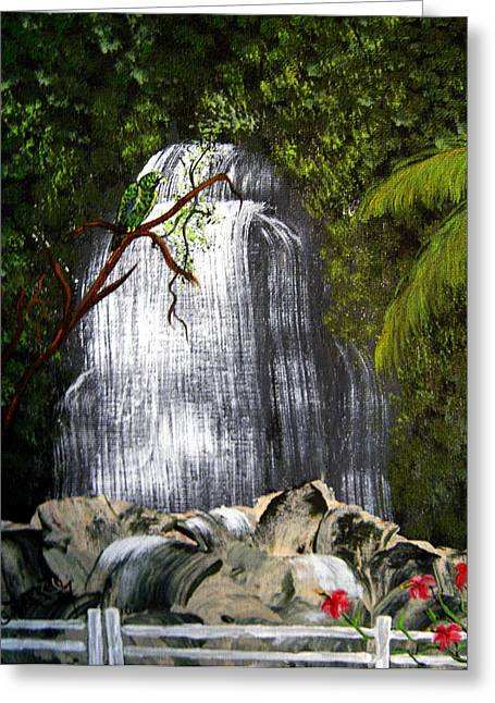 El Yunque  Greeting Card