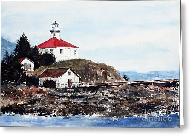Eldred Rock Lighthouse Greeting Card