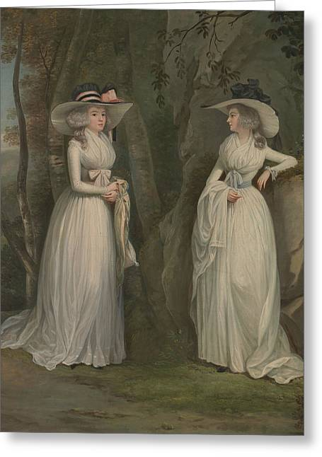 Eleanor And Margaret Ross Greeting Card