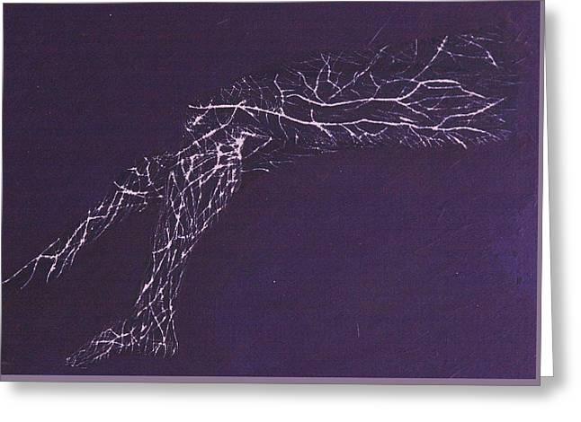 Electric Legs Greeting Card