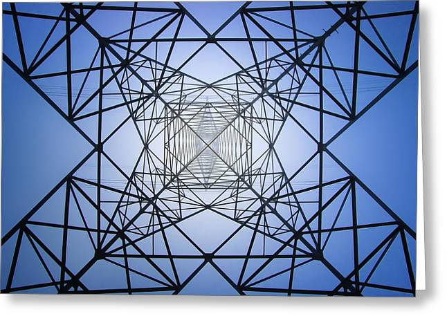 Electrical Symmetry Greeting Card