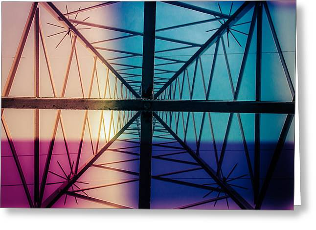 Electromagnetic Fields Greeting Card