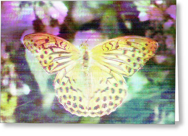 Electronic Wildlife  Greeting Card