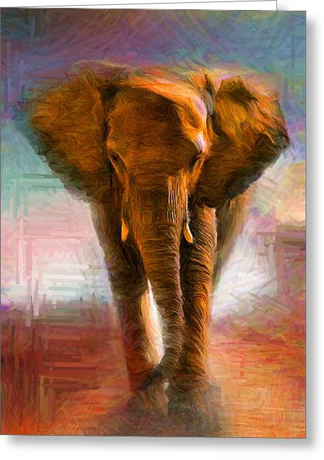 Elephant 1 Greeting Card