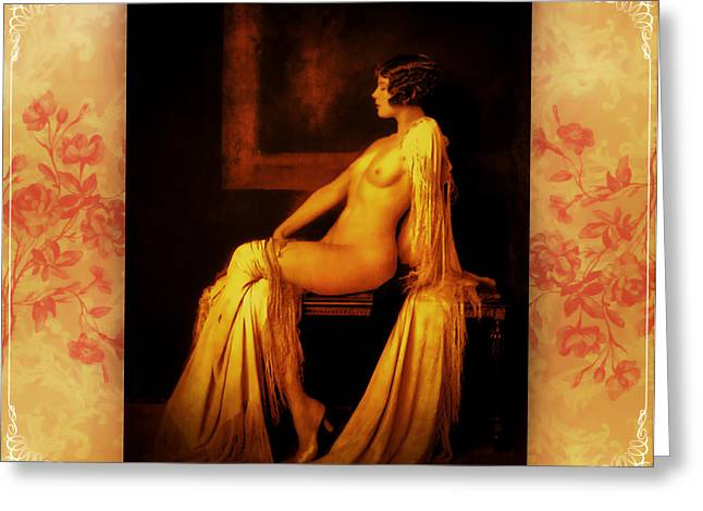 Greeting Card featuring the photograph Elegance 2 by Mary Morawska