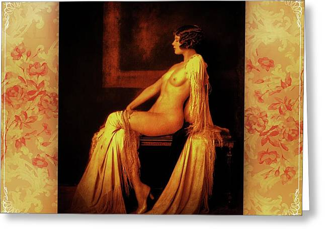 Greeting Card featuring the photograph Elegance by Mary Morawska