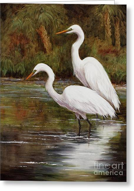 Elegant Reflections Greeting Card