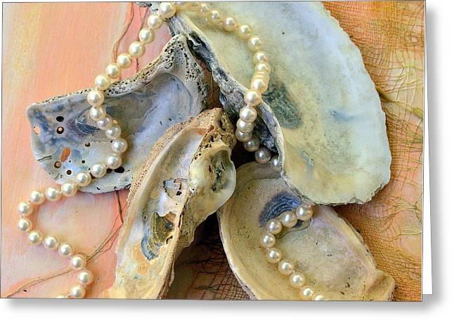 Elegant Treasures From The Sea Greeting Card