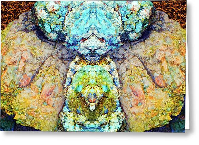 Elemental Being In Nature 1 Greeting Card