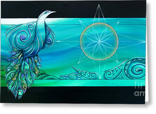 Elements Greeting Card by Reina Cottier
