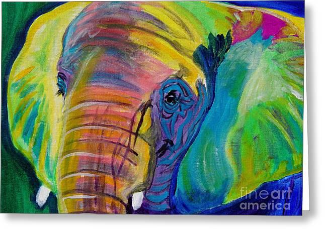 Elephant - Pachyderm Greeting Card