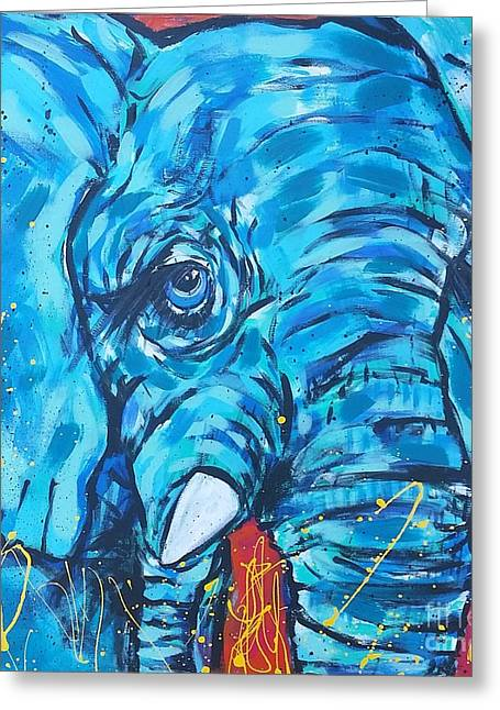 Elephant #3 Greeting Card