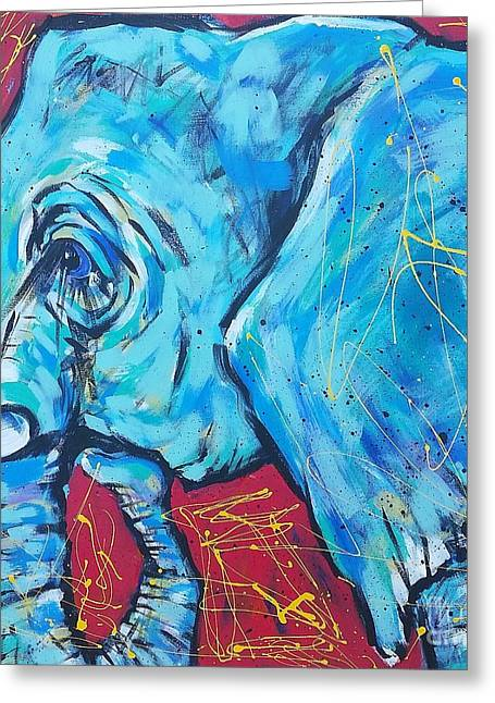 Elephant #4 Greeting Card