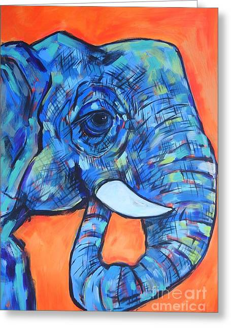 Elephant# 6 Greeting Card