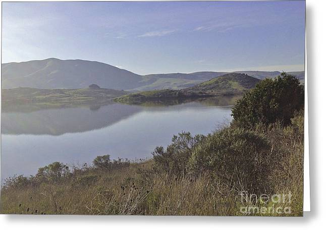 Elephant Hill In Mist Greeting Card