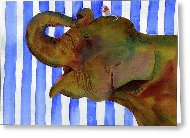 Elephant Joy Greeting Card
