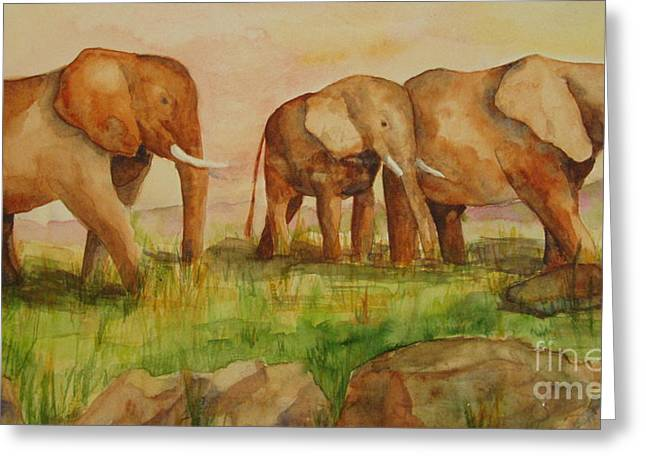 Elephant Parade Greeting Card