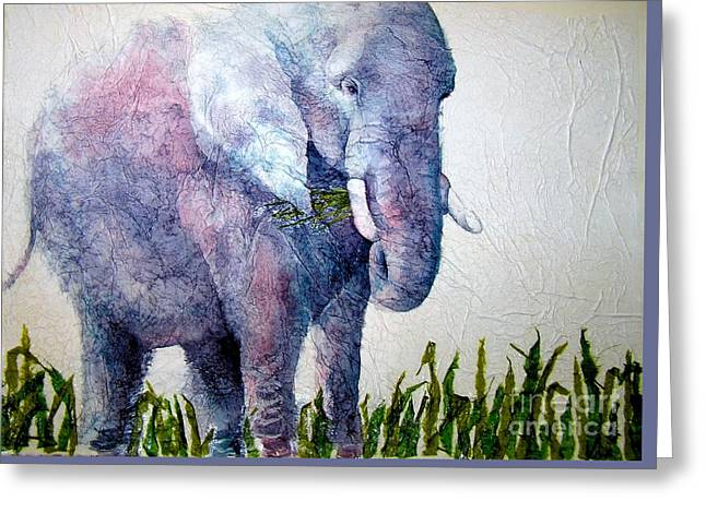Elephant Sanctuary Greeting Card