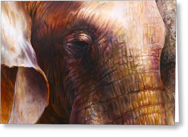 Elephant Empathy Greeting Card