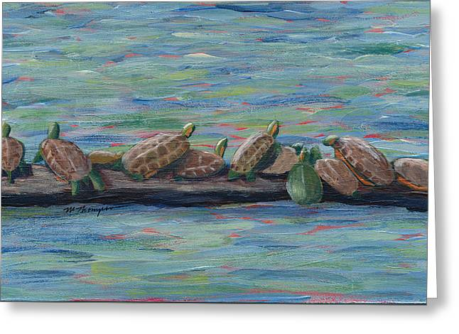 Eleven Turtles Greeting Card